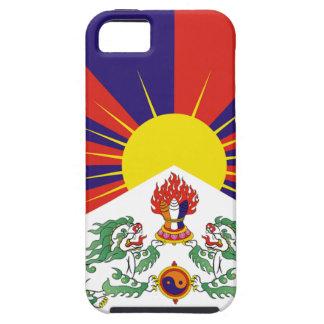 Capa Para iPhone 5 Bandeira livre de Tibet - ་ do བཙན do ་ do རང do ་