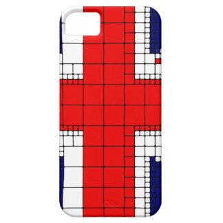 Capa Para iPhone 5 Bandeira Reino Unido do jaque de união patriótica