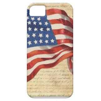 Capa Para iPhone 5 Bandeira star spangled