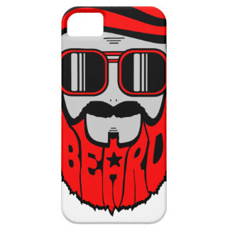 Capa Para iPhone 5 barba vermelha