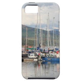 Capa Para iPhone 5 Barcos em Kyleakin, ilha de Skye, Scotland