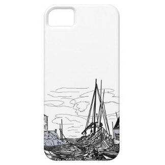 Capa Para iPhone 5 barcos na água