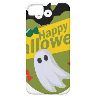 Capa Para iPhone 5 Bastões e fantasmas felizes do Dia das Bruxas