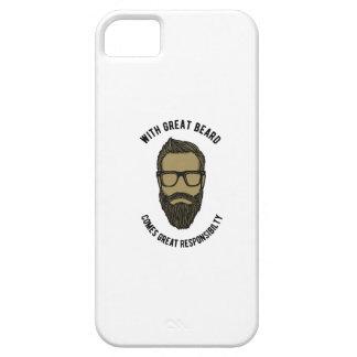 Capa Para iPhone 5 beard
