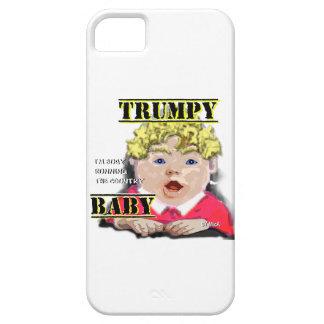 Capa Para iPhone 5 Bebê de Trumpy - perito em software do iPhone +