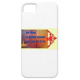Capa Para iPhone 5 Bênçãos a você