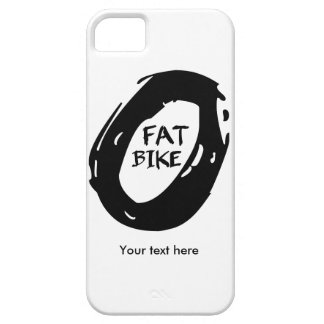 Capa Para iPhone 5 Bicicleta gorda