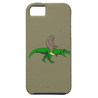 Capa Para iPhone 5 Bigfoot que monta T Rex