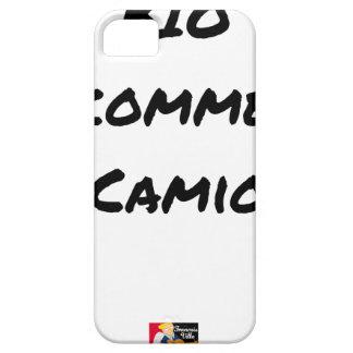 Capa Para iPhone 5 BIOLÓGICO COMO UM CAMIÃO? - Jogos de palavras