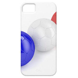 Capa Para iPhone 5 Bolas do futebol com a bandeira de France