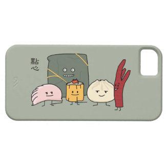 Capa Para iPhone 5 Bolo chinês dos bolos da bolinha de massa de Bao