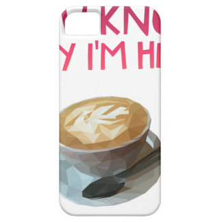 Capa Para iPhone 5 Bolsa de estudo bêbeda anónima do AA do café