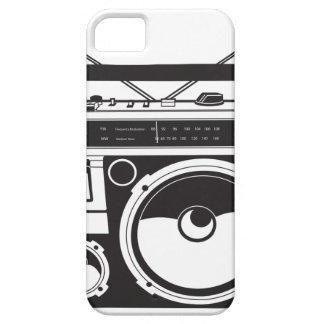 Capa Para iPhone 5 ☞ box de boom Oldschool, Cassette Player/