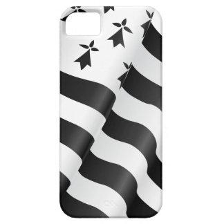 Capa Para iPhone 5 Bretão de Drapeau (bandeira bretão)