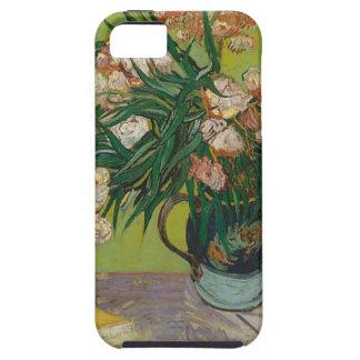 Capa Para iPhone 5 Buquê de flores cor-de-rosa no vaso