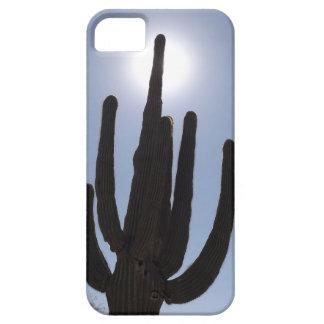 Capa Para iPhone 5 cacto do saguaro com contexto do sol