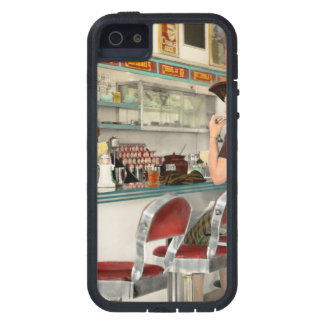 Capa Para iPhone 5 Café - o lugar frequentado local 1941