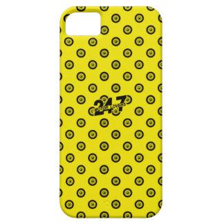 Capa Para iPhone 5 Caixa amarela & preta