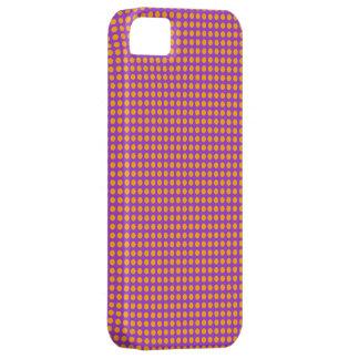 Capa Para iPhone 5 Caixa cor-de-rosa alaranjada do móbil do teste