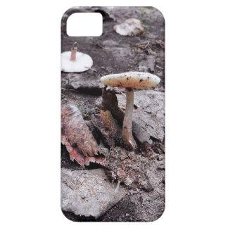Capa Para iPhone 5 Caixa do cogumelo e do telemóvel das folhas