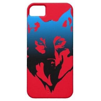 Capa Para iPhone 5 caixa do SE do iphone com o lobo nele
