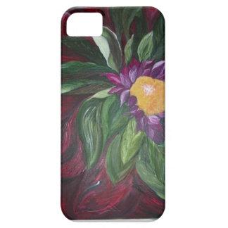 Capa Para iPhone 5 Caixa impressionante da flor para o smartphone,