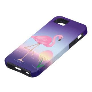 Capa Para iPhone 5 Caixa resistente do SE do iPhone do flamingo