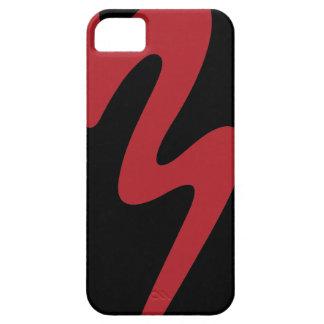 Capa Para iPhone 5 Caixa vermelha do telemóvel do logotipo - banda da