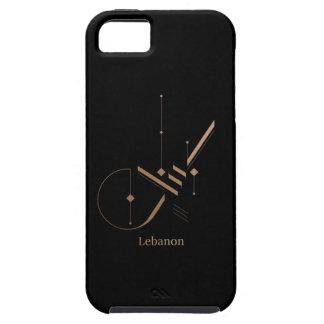 Capa Para iPhone 5 caligrafia árabe moderna - Líbano