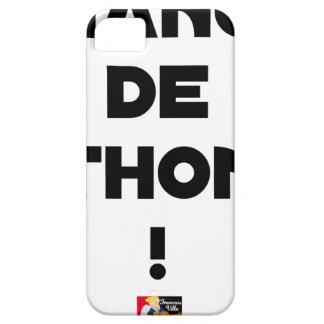 Capa Para iPhone 5 CÂMBIO DE ATUM! - Jogos de palavras - François