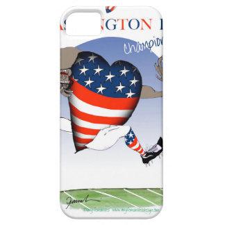 Capa Para iPhone 5 Campeões do futebol do Washington DC, fernandes