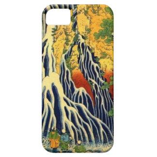 Capa Para iPhone 5 Camponeses e cachoeira