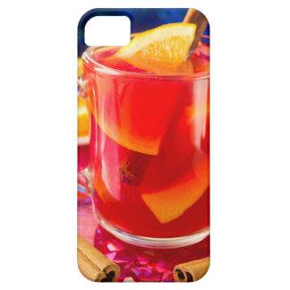 Capa Para iPhone 5 Caneca transparente com vinho mulled citrino