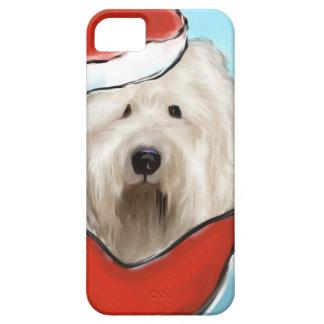 Capa Para iPhone 5 Cão de carneiros inglês velho