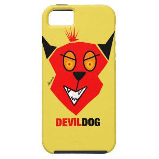Capa Para iPhone 5 Cão de diabo - cobrir do iPhone 5