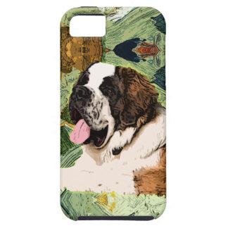 Capa Para iPhone 5 Cão de St Bernard