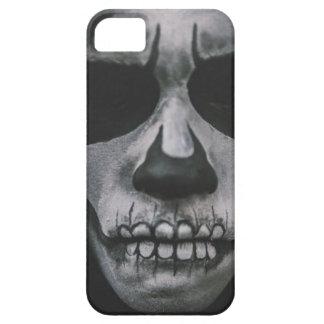 Capa Para iPhone 5 Cara assustador preta & branca…