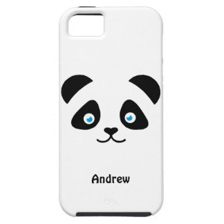 Capa Para iPhone 5 cara do urso de panda