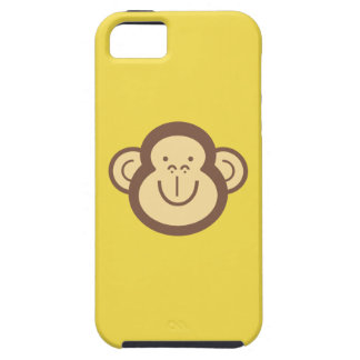 Capa Para iPhone 5 Cara pequena bonito do macaco