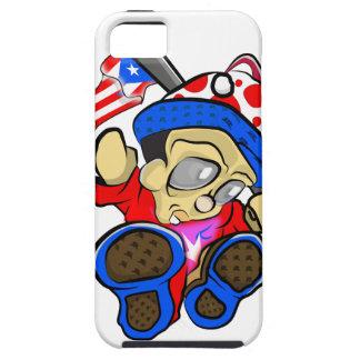 Capa Para iPhone 5 Caráter bonito de Puerto Rico com bandeira