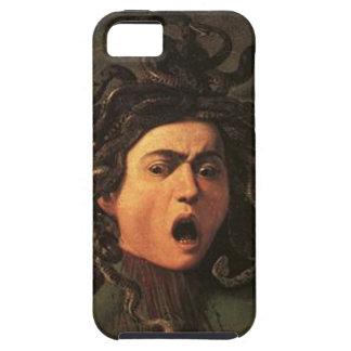 Capa Para iPhone 5 Caravaggio - Medusa - trabalhos de arte italianos