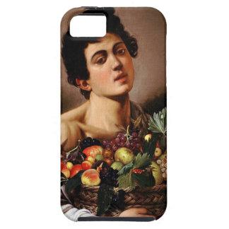 Capa Para iPhone 5 Caravaggio - menino com uma cesta de trabalhos de