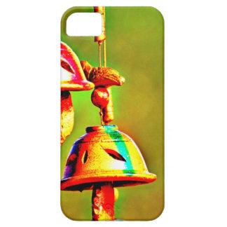 Capa Para iPhone 5 Carrilhões de madeira coloridos