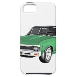 Capa Para iPhone 5 Carro verde do músculo 1968