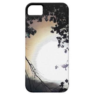 Capa Para iPhone 5 Carvalhos de Sun e de Pin