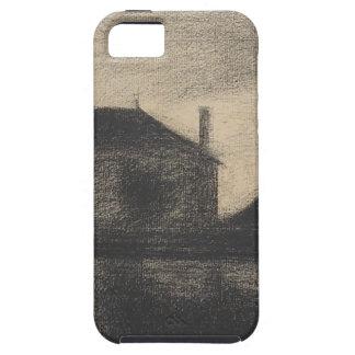 Capa Para iPhone 5 Casa no crepúsculo (La Cité)
