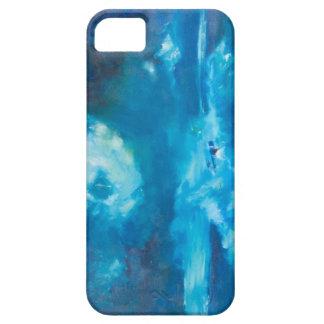 Capa Para iPhone 5 Caso ártico da arte de Janet Londres da tempestade