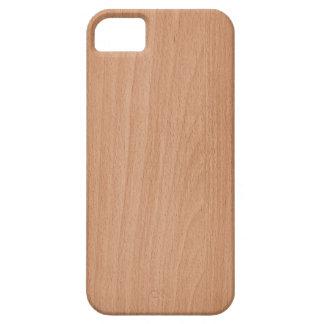 Capa Para iPhone 5 Caso de madeira da textura