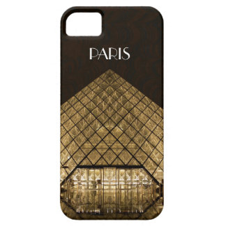 Capa Para iPhone 5 Caso do iPhone SE/5/5S da pirâmide do Louvre mal