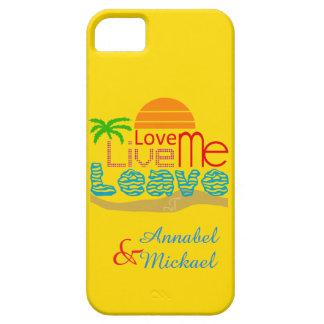 Capa Para iPhone 5 caso do iPhone SE/5/5S - praia do amor de Sun do